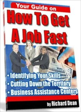 How To Get a Job Fast eBook -
