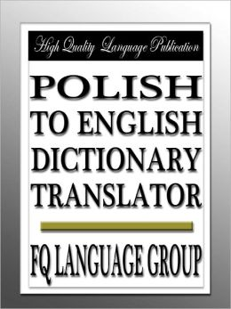 Polish to English Dictionary Translator