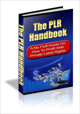 The PLR Handbook - A No Fluff Guide On How To Profit With Private Label Rights