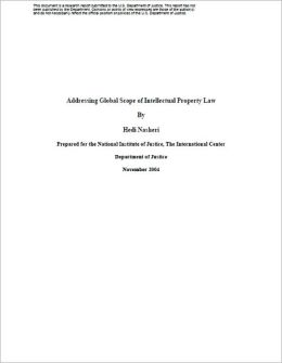 Addressing Global Scope of Intellectual Property Law