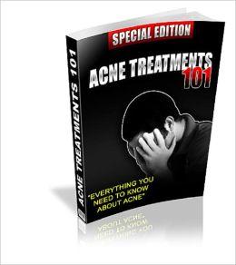 Acne Treatments 101