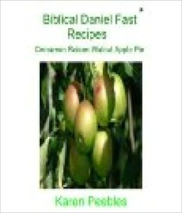 Biblical Daniel Fast Recipes - Cinnamon Raisin Walnut Apple Pie