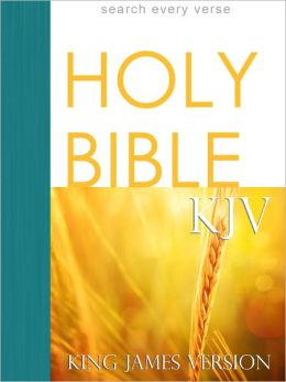 Holy Bible, King James Version (KJV) Optimized for Nook