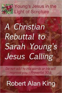 Jesus Calling by Sarah Young (2004, Leather, Deluxe) 160322