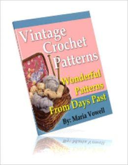 20 Wonderful Vintage Crochet Patterns