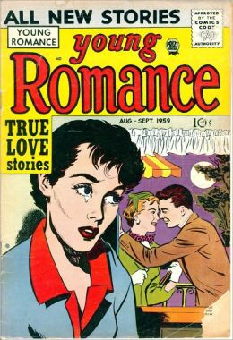 Young Romance Number 101 Love Comic Book
