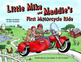 Little Mike and Maddie's First Motorcycle Ride