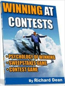 eBook about Winning At Contests - THE PSYCHOLOGY OF WINNING