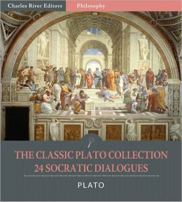The Classic Plato Collection: 24 Socratic Dialogues (Illustrated)