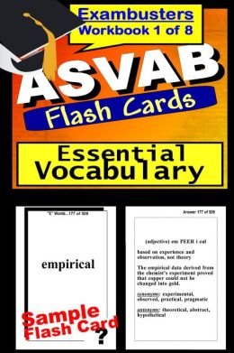 ASVAB Study Guide Essential Vocabulary--ASVAB Flashcards--ASVAB Prep Workbook 1 of 8