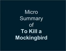 Micro Summary: To Kill A Mockingbird