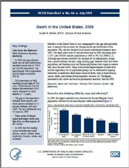 Death in the United States, 2007