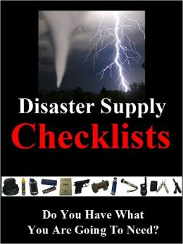 Disaster Supply Checklists!