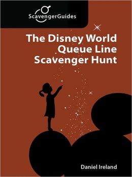The Disney World Queue Line Scavenger Hunt