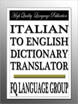 how to translate italian pdf to english