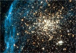 Hubble Snaps Picture of Remarkable Double Cluster