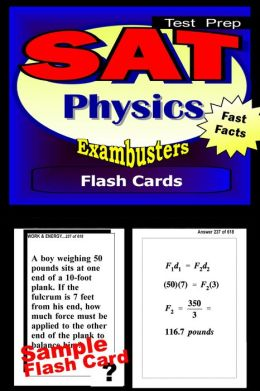 SAT Physics Study Guide--SAT 2 Science Flashcards--SAT 2 Prep Workbook