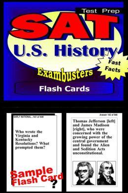 SAT United States History Study Guide--SAT 2 History Flashcards--SAT 2 Prep Workbook