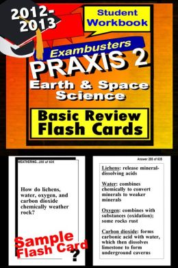 PRAXIS 2 Earth/Space Sciences Study Guide--PRAXIS General Science Flashcards--PRAXIS 2 Prep