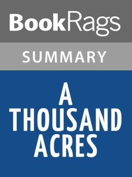 an analysis of a thousand acres a book by jane smiley Tragedy, jane smiley's rewriting of king lear in a thousand acres  that smiley's  novel questions the meaning humanist critics invest in.