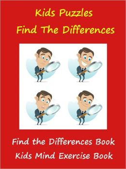 Kids Best Puzzle Book : Find The Differences