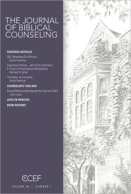 Journal of Biblical Counseling (26:1)