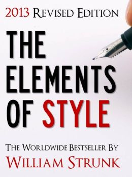 The Elements of Style (2012 Revised NOOK Edition)