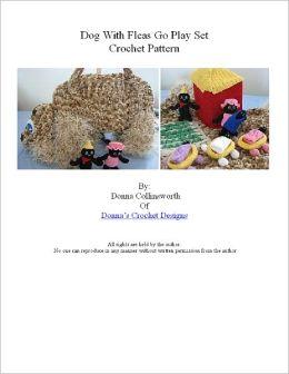 Dog with Fleas Play Set Crochet Pattern
