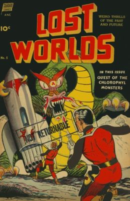 Vintage Sci/Fi Comics: Lost Worlds No. 5 Circa 1952