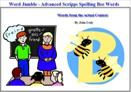 Jumbled Words - Fun way to practice for the Scripps Spelling Bee (Advanced)