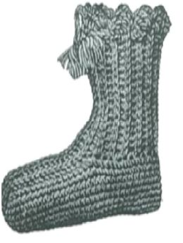 PATTERN #0201 SLIPPED STITCH BOOTIE VINTAGE CROCHET