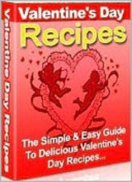 Valentine's day recipes & more
