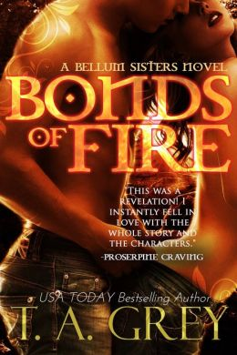 Bonds of Fire: The Bellum Sisters 2 (paranormal erotic romance)