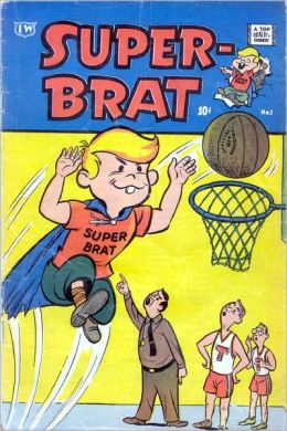 Super Brat Number 1 Funny Comic Book