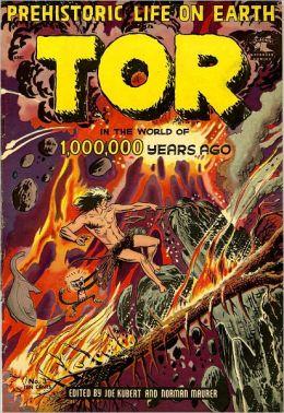 Vintage Fantasy Comics: Prehistoric Life on Earth Tor No. 3 Circa 1954