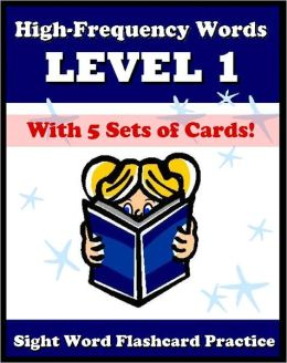 High Frequency Words - Practice Level 1 Sight Words: 40 Sight Words for Preschoolers