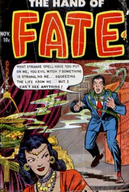 Vintage Horror Comics:The Hand of Fate No. 14 Circa 1952
