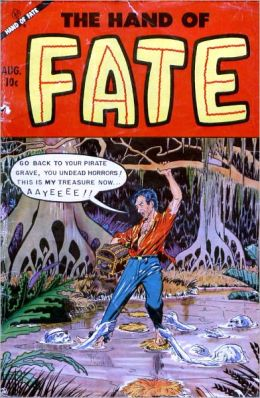 Vintage Horror Comics:The Hand of Fate No. 19 Circa 1953