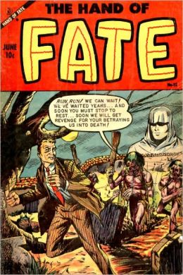 Vintage Horror Comics: The Hand of Fate No. 23 Circa 1953