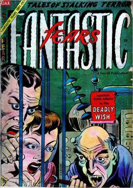 Vintage Horror Comics: Fantastic Fears No. 9 Circa 1954