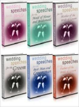 Wedding Speeches 6 in 1(83 Pages)