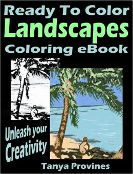 Ready To Color Landscapes Coloring eBook