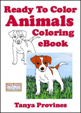 Ready To Color Animals Coloring eBook