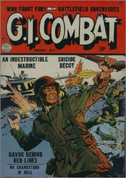 G.I. Combat Number 3 - War Comic Book