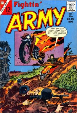 Fightin Army Number 53 War Comic Book