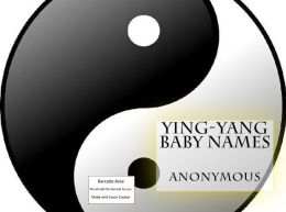 Ying-Yang Baby Names and Meanings