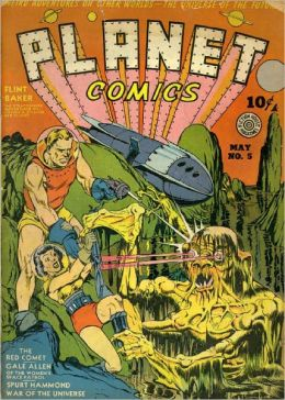 Planet Comics Number 5 Fantasy Comic Book
