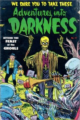 Adventures Into Darkness Number 13 Horror Comic Book