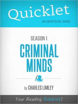 Quicklet on Criminal Minds Season 1 (TV Show)