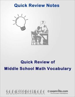 Quick Review: Middle School Math Vocabulary & Terms